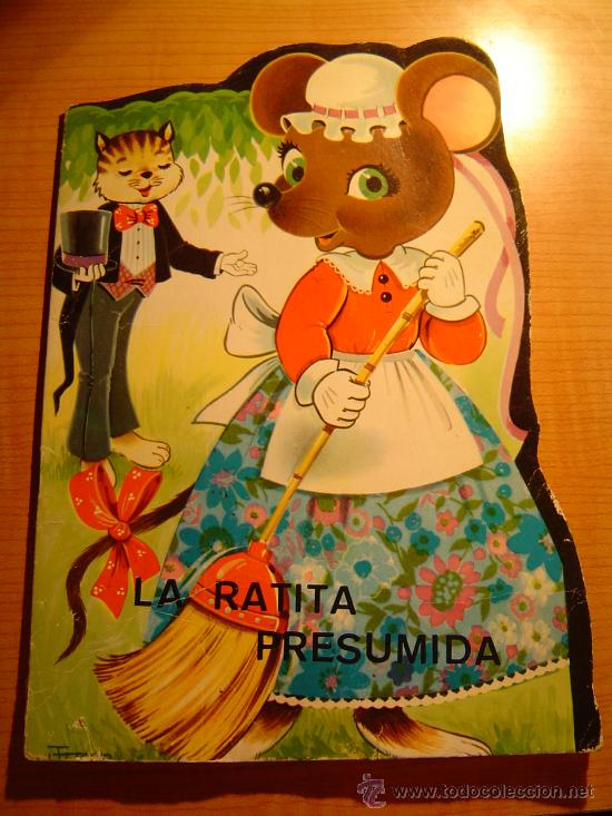 CUENTO TROQUELADO LA RATITA PRESUMIDA EDITORIAL VILMAR (Libros de Segunda Mano - Literatura Infantil y Juvenil - Cuentos)