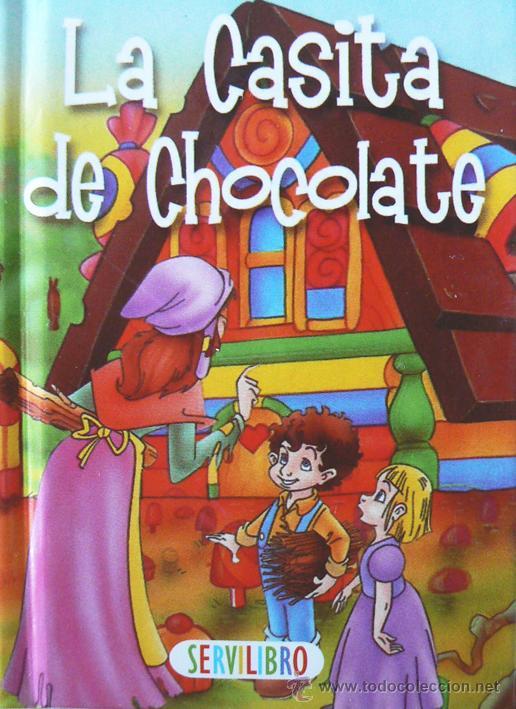 Cuentos la casita de chocolate minicuento comprar for Casitas infantiles segunda mano