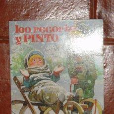 Libros de segunda mano: LEO, RECORTO Y PINTO. EDICIONES ANTALBE Nº 1, 1984. Lote 12012310
