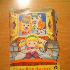 Libros de segunda mano - CUENTO TROQUELADO CABELLOS DE ORO Y LOS TRES OSOS EDITORIAL BRUGUERA - 8988765
