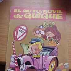 Libros de segunda mano: EL AUTOMOVIL DE QUIQUE.EDITORIAL BRUGUERA, COL. TELE RISA Nº 17 1975 *. Lote 9124000