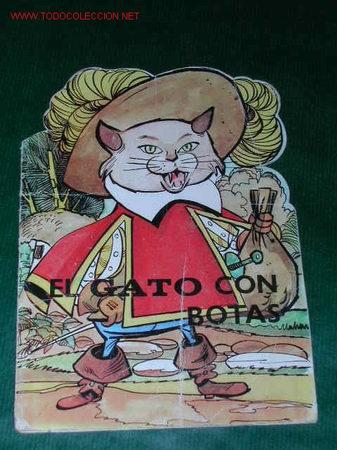 CUENTO TROQUELADO: EL GATO CON BOTAS (Libros de Segunda Mano - Literatura Infantil y Juvenil - Cuentos)
