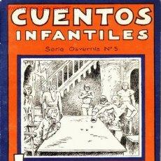 Libros de segunda mano: CUENTOS INFANTILES. LAS TRES DAMAS ENLUTADAS. SERIE OSVERNIA, N. 5. AÑO 1938. Lote 27309591