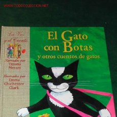 Libros de segunda mano: EL GATO CON BOTAS Y OTROS CUENTOS DE GATOS. Lote 183176468