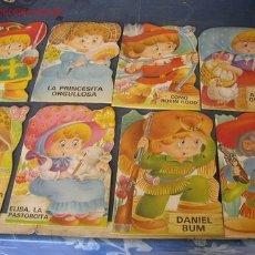 Libros de segunda mano: MIS TROQUELADOS-ED.BRUGUERA-1ª.ED. 1983-CON 8 PÁG. C/U-COLECCIÓN COMPLETA DE 8 CUENTOS TROQUELADOS. Lote 16948882