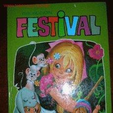 Libros de segunda mano: LIBRO DE CUENTOS Nº4 COLECCIÓN FESTIVAL.ED.GARZA 1983.. Lote 27094737