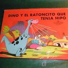 Libros de segunda mano: DINO Y EL RATONCITO QUE TENIA HIPO - ESCENAS DESPLEGABLES. Lote 20425689
