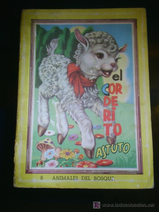 M69 ANTIGUO CUENTO EL CORDERITO ASTUTO NUMERO 8 COLECCION ANIMALES DEL BOSQUE (Libros de Segunda Mano - Literatura Infantil y Juvenil - Cuentos)