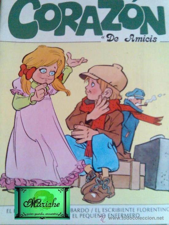 CORAZÓN DE AMICIS SERIE LECTURAS DE EUROPA-EDIEXPORT AÑO 1983 4 CUENTOS, NUEVO (Libros de Segunda Mano - Literatura Infantil y Juvenil - Cuentos)