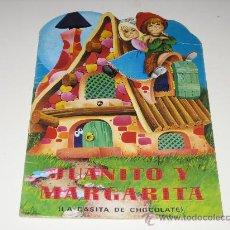 Libros de segunda mano: CUENTO TROQUELADO - JUANITO Y MARGARITA (LA CASITA DE CHOCOLATE)1982 -ED.COBAS S.A.. Lote 27576470