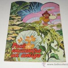Libros de segunda mano: CUENTO TROQUELADO - PECK ENCUENTRA UN AMIGO 1979 - ED. ALONSO. Lote 27576472