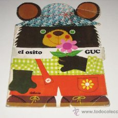 Libros de segunda mano: CUENTO TROQUELADO - EL OSITO GUC -1975 EMOGRAPH. Lote 27576474