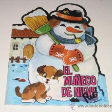 Libros de segunda mano: CUENTO TROQUELADO - EL MUÑECO DE NIEVE 1980 -PRODUCIONES EDITORIALES. Lote 27576476