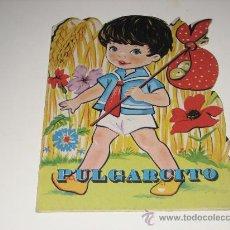 Libros de segunda mano: CUENTO TROQUELADO - PULGARCITO -ED.VILMAR. Lote 27576477