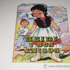 Libros de segunda mano: CUENTO TROQUELADO - HEIDI Y SUS AMIGOS 1980 - PRODUCIONES EDITORIALES. Lote 27576478