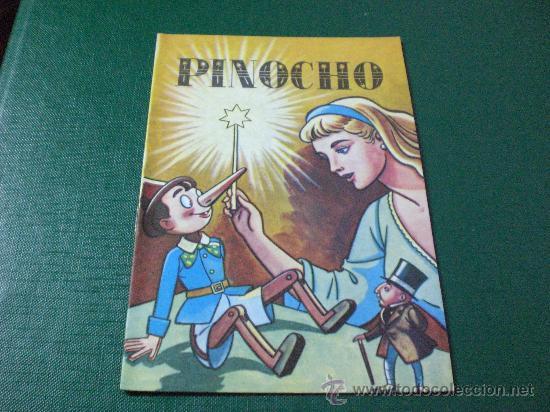 CUENTO ANTIGUO PINOCHO ED SUSAETA (Libros de Segunda Mano - Literatura Infantil y Juvenil - Cuentos)