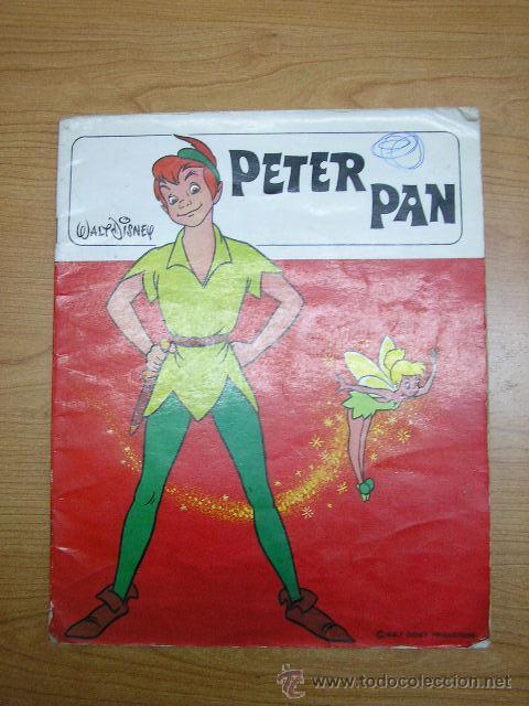 PETER PAN, EDICIONES SUSAETA, AÑO 1974 (Libros de Segunda Mano - Literatura Infantil y Juvenil - Cuentos)