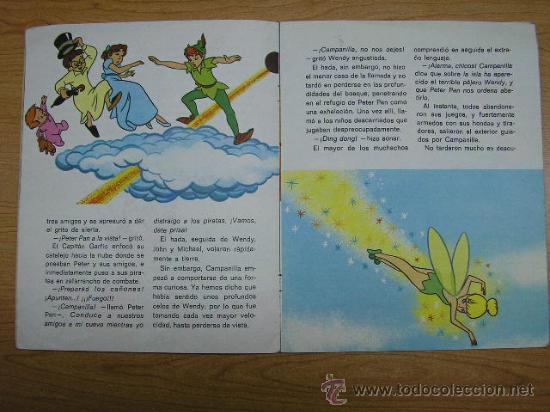 Libros de segunda mano: PETER PAN, EDICIONES SUSAETA, AÑO 1974 - Foto 2 - 11970841