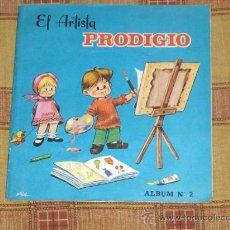 Libros de segunda mano: EL ARTISTA PRODIGIO ALBUM Nº 2. EDITORIAL ROMA 1967. LIBRO PARA PINTAR. REGALO DON HUEVO PELADO.. Lote 13439159