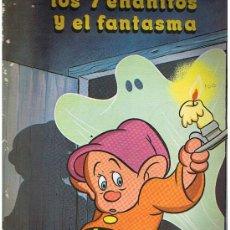 Libros de segunda mano: LOS 7 ENANITOS Y EL FANTASMA PUBLICACIONES FHER 1983 COLECCION FANTASIA DE COLORES. Lote 26710708