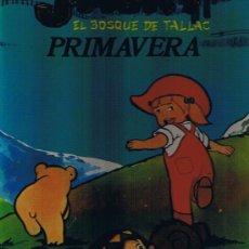 Libros de segunda mano: JACKY -EL BOSQUE DE TALLACPRIMAVERA -TAPA DURA -1979. Lote 27072580
