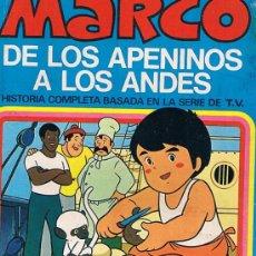 Libros de segunda mano: MARCO Nº 5 ADIOS FIORINA HISTORIA COMPLETA BASADA EN LA SERIE DE T.V.-1976. Lote 27072583