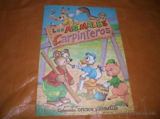 LOS ANIMALES CARPINTEROS (Libros de Segunda Mano - Literatura Infantil y Juvenil - Cuentos)