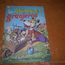 Libros de segunda mano: LOS ANIMALES GRANJEROS. Lote 12823033