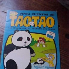 Libros de segunda mano: PINTA CUENTOS DE TAOTAO Nº 11. CUENTO Y POSTER PARA COLOREAR. EDICIONES RECREATIVAS AÑO 1985. Lote 13180364