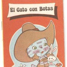 Libros de segunda mano: CUENTO - EL GATO CON BOTAS . Lote 13882203