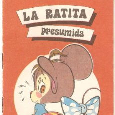 Libros de segunda mano: CUENTO - LA RATITA PRESUMIDA. Lote 13882331