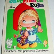 Libros de segunda mano: CUENTO DE CAPERUCITA ROJA Y LAS 7 CABRITAS - BIBLIOTECA MIS PRIMEROS CUENTOS - Nº 3 - ED. ROMA.. Lote 13932596