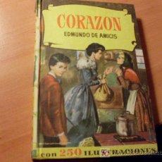 Libros de segunda mano: CORAZON ( EDMUNDO DE AMICIS ) 250 ILUSTRACIONES 4ª EDICION 1964. Lote 27731529
