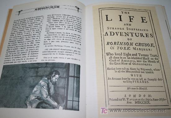 Libros de segunda mano: ROBINSON CRUSOE - DANIEL DEFOE - GRANDES AVENTURAS ILUSTRADAS - BRUGUERA1981 - Foto 4 - 27637134