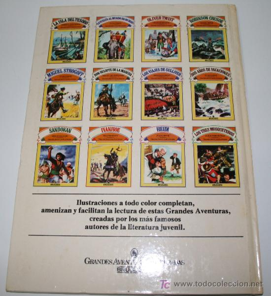 Libros de segunda mano: ROBINSON CRUSOE - DANIEL DEFOE - GRANDES AVENTURAS ILUSTRADAS - BRUGUERA1981 - Foto 2 - 27637134