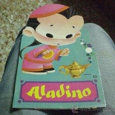 Libros de segunda mano: CUENTO COLECCÓN BURBUJAS Nº 13 .-ALADINO.- ILUSTRACIONES HELENITA.-AÑO 1971. Lote 24535203