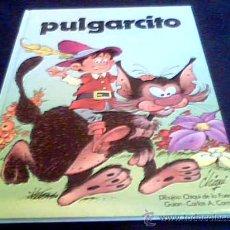 Libros de segunda mano: PULGARCITO. DIBUJOS DE CHIQUI DE LA FUENTE Y GUION DE CARLOS CORNEJO. 1983. EDICIONES RASGOS. 1983.. Lote 14970373