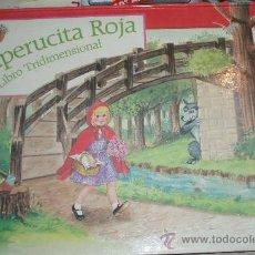 Libros de segunda mano: CAPERUCITA ROJA LIBRO TRIDIMENSIONAL. Lote 25252471