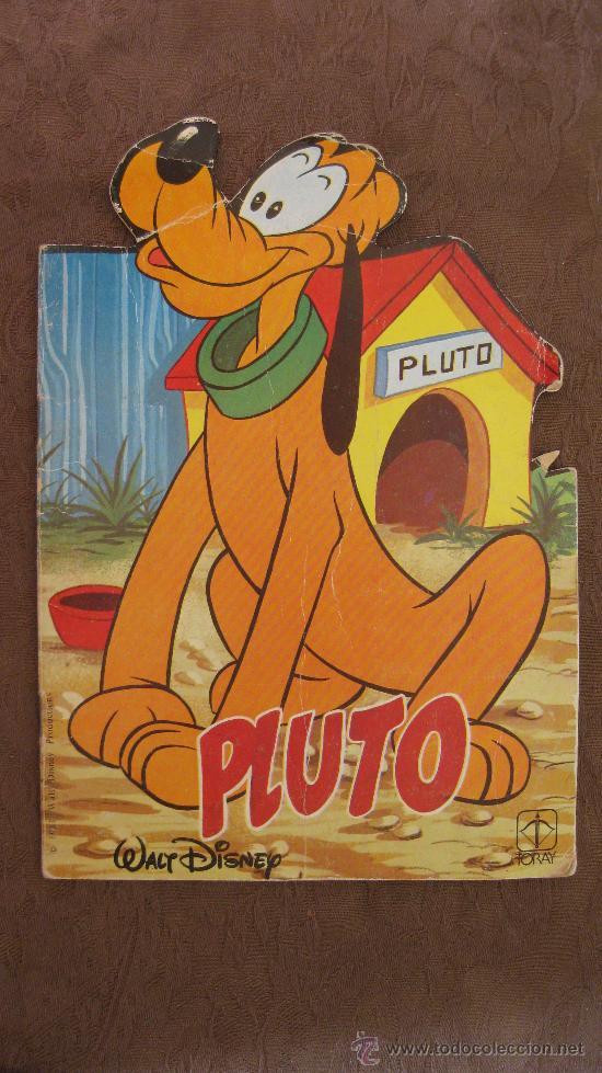 WALT DISNEY-CUENTO TROQUELADO-PLUTO-EDICIONES TORAY. (Libros de Segunda Mano - Literatura Infantil y Juvenil - Cuentos)