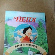 Libros de segunda mano: HEIDI, FASCICULO Nº 1 HACIA LA MONTAÑA. RBA COLECCIONABLES 1999. TEXTOS DE JULIA SANFIZ. ++++++. Lote 35679375