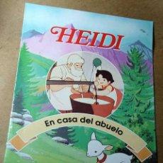 Libros de segunda mano: HEIDI, FASCICULO Nº 2. EN CASA DEL ABUELO. RBA COLECCIONABLES 1999. TEXTOS DE JULIA SANFIZ. ++++++. Lote 35679284