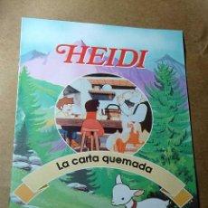Libros de segunda mano: HEIDI, FASCICULO Nº 5. LA CARTA QUEMADA. RBA COLECCIONABLES 1999. TEXTOS DE JULIA SANFIZ. ++++++. Lote 35679290