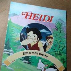 Libros de segunda mano: HEIDI, FASCICULO Nº 6. SILBA MÁS FUERTE. RBA COLECCIONABLES 1999. TEXTOS DE JULIA SANFIZ. ++++++. Lote 35679304