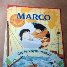 Libros de segunda mano: MARCO, FASCICULO Nº 1. NO TE VAYAS MAMÁ. RBA COLECCIONABLES 1999. TEXTOS DE JULIA SANFIZ. ++++++. Lote 35679312