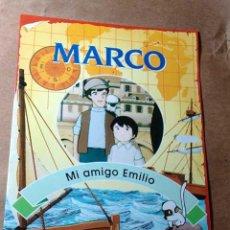 Libros de segunda mano: MARCO, FASCÍCULO Nº 5. MI AMIGO EMILIO. RBA COLECCIONABLES 1999. TEXTOS DE JULIA SANFIZ. ++++++. Lote 35679369