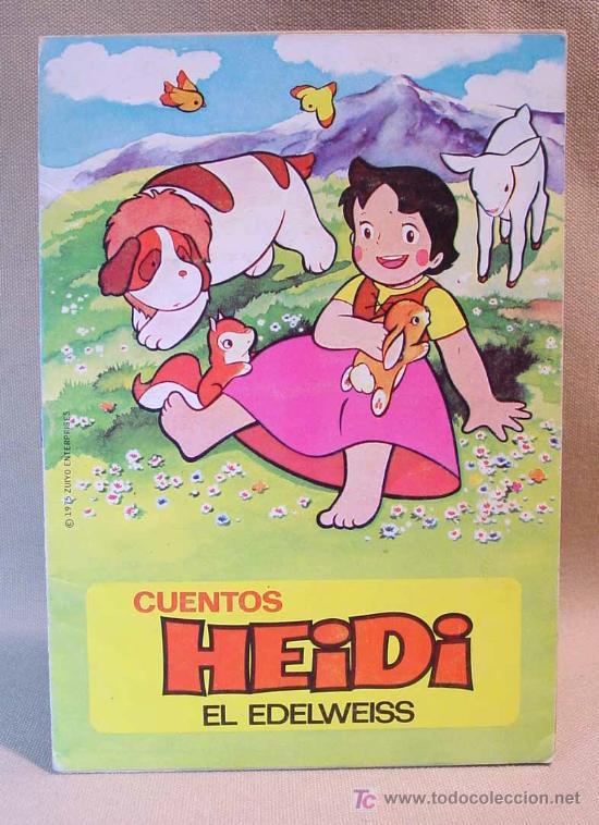 CUENTOS HEIDI, EDITORIAL BRUGUERA, EDELWEISS, Nº 11, BARCELONA, 1975 (Libros de Segunda Mano - Literatura Infantil y Juvenil - Cuentos)