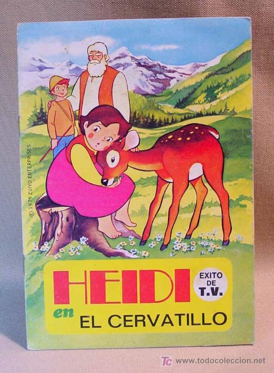 TROQUELADOS HEIDI, EDITORIAL BRUGUERA, EL CERVATILLO, Nº 1, BARCELONA, 1975 (Libros de Segunda Mano - Literatura Infantil y Juvenil - Cuentos)
