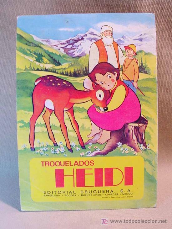 Libros de segunda mano: TROQUELADOS HEIDI, EDITORIAL BRUGUERA, EL CERVATILLO, Nº 1, BARCELONA, 1975 - Foto 2 - 16751479