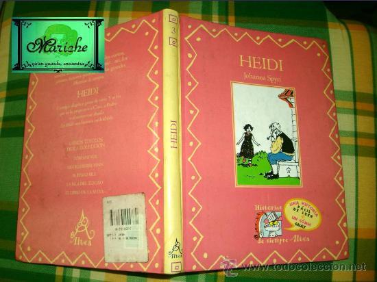 HEIDI, COLECCIÓN HISTORIAS DE SIEMPRE, ALTEA, SANTILLANA Nº 3, UN COMIC GUAY. FRANCISCO SOLÉ (Libros de Segunda Mano - Literatura Infantil y Juvenil - Cuentos)