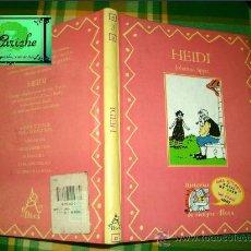 Libros de segunda mano: HEIDI, COLECCIÓN HISTORIAS DE SIEMPRE, ALTEA, SANTILLANA Nº 3, UN COMIC GUAY. FRANCISCO SOLÉ. Lote 27573853